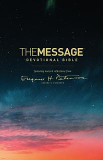 The Message Devotional Bible Book