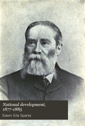 National Development, 1877-1885: Volume 23