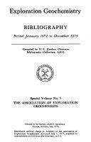 Exploration Geochemistry PDF