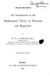 An Introduction to the Mathematical Theory of Electricity and Magnetism