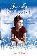 Sarah s Last Wish Book