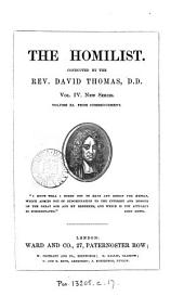 The Homilist; or, The pulpit for the people, conducted by D. Thomas. Vol. 1-50; 51, no. 3- ol. 63: Volume 12