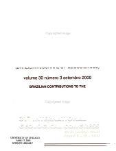 Revista brasileira de geoci  ncias PDF