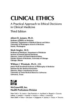 Clinical Ethics PDF