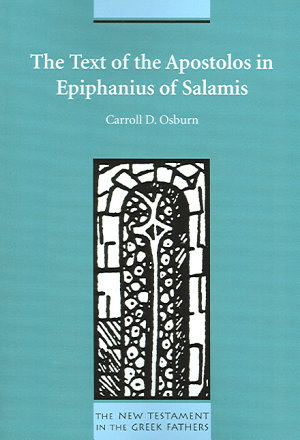 The Text of the Apostolos in Epiphanius of Salamis