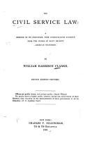 The Civil Service Law  a Defense of Its Principles PDF