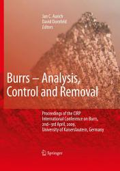 Burrs Analysis Control And Removal PDF