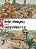 British Infantryman vs German Infantryman
