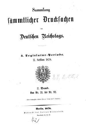 Verhandlungen des Reichstages PDF