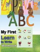 ABC My First Learn to Write Workbook PDF
