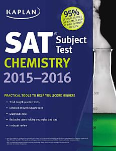 Kaplan SAT Subject Test Chemistry 2015 2016 Book