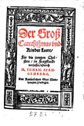 Der groß Catechißmus und Kinder Leere