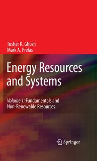 Energy Resources and Systems Book