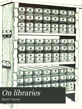 On Libraries: For Librarians