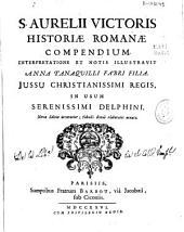 S. Aurelii Victoris Historiae romanae compendium