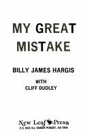 My Great Mistake PDF
