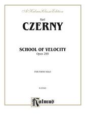 School of Velocity, Opus 299 (Complete): For Piano