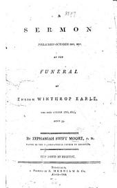 A Sermon [on Amos iv. 12] preached at the funeral of ... W. Earle, etc