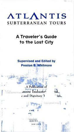Atlantis Subterranean Tours PDF
