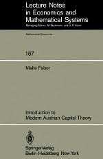 Introduction to Modern Austrian Capital Theory