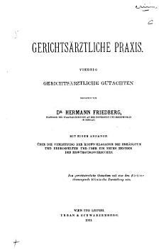 Gerichts  rztliche Praxis PDF