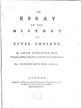 Essay on the History of Civil Society PDF