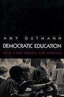 Democratic Education PDF