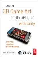 Creating 3D Game Art for the IPhone with Unity PDF