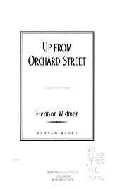 Up from Orchard Street PDF