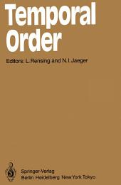 Temporal Order: Proceedings of a Symposium on Oscillations in Heterogeneous Chemical and Biological Systems, University of Bremen, September 17–22, 1984