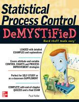 Statistical Process Control Demystified PDF