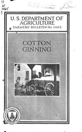 Cotton Ginning PDF