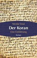 Der Koran  Eine Einf  hrung PDF