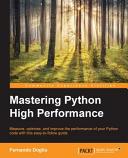 Mastering Python High Performance PDF