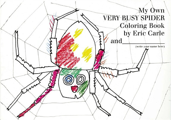 My Own Very Busy Spider Coloring Book