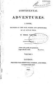 Continental adventures: a novel