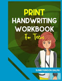 Print Handwriting Workbook for Teens