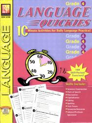 Language Quickies  GR 4  PDF