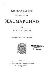 Bibliographie des Oeuvres de Beaumarchais