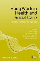 Body Work in Health and Social Care PDF