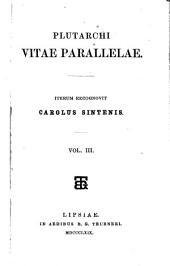 Plutarchi Vitae parallelae: Volume 3
