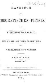 Handbuch der theoretischen Physik: Band 1,Ausgaben 1-2
