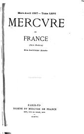 Mercure de France: Volume66