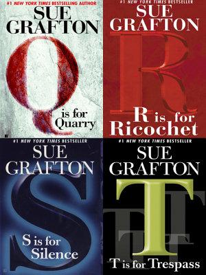 Four Sue Grafton Novels