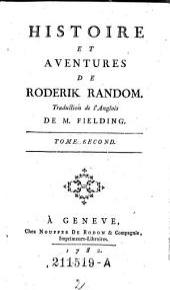 Histoire et Aventures de Roderik Random