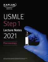 USMLE Step 1 Lecture Notes 2021  Pharmacology PDF