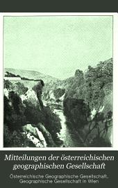 Mitteilungen der Österreichischen Geographischen Gesellschaft: Band 47