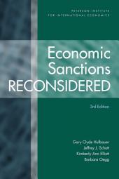 Economic Sanctions Reconsidered: Volume 2