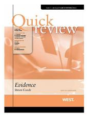 Quick Review of Evidence, 6th: Edition 6