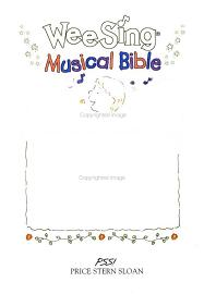 Wee Sing Musical Bible Book And Tape